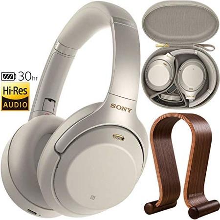 헤드셋 Sony WH1000XM3 Premium Noise Cancelling Wireless Bluetooth Headphones with Built in Micropho, 상세 설명 참조0, Silver
