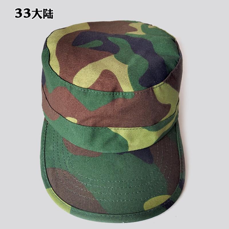 밀리 터 리 캡 남녀 여름 학생 군사훈련 모 자 07 사막 정글 도시 해양 평평 한 캡 캡 모자 커버 33 대륙 조절 가능
