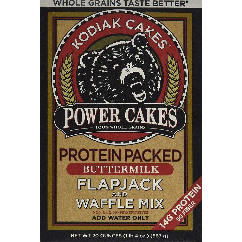 Kodiak 코디악 케이크 및 와플 믹스 567 g, none, 567g