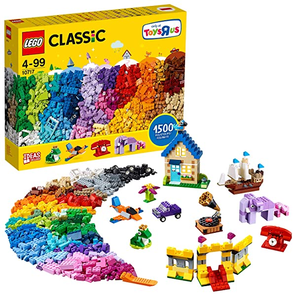 LEGO Classic Extra Large Brick Box (10717) Classic Building Toy for Children