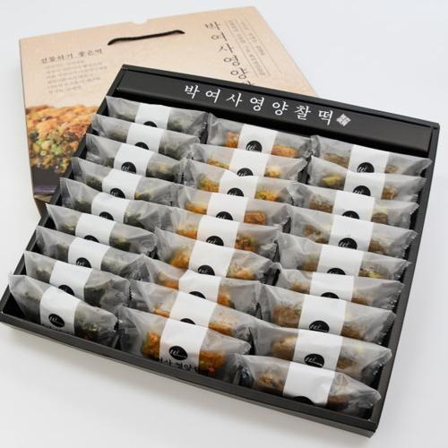 박여사 영양찰떡 추석 선물하기 좋은 선물세트(대) 27개 웰빙찰떡(랜덤혼합), 1개