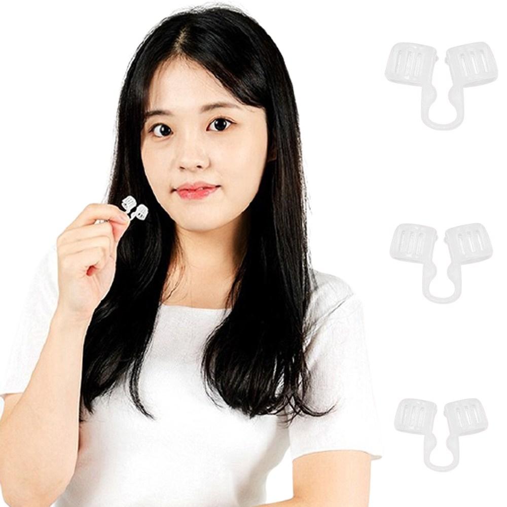 코골이방지기구 코골이방지 수면무호흡증 비강확장기 코로숨쉬기 코골이방지밴드 비강확장기 수면중무호흡 비강확장 코골이방지, DJ-1(소형:콧구멍직경 12MM)