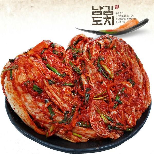 남도김치 맛있게 매운 포기김치 1kg, 1개