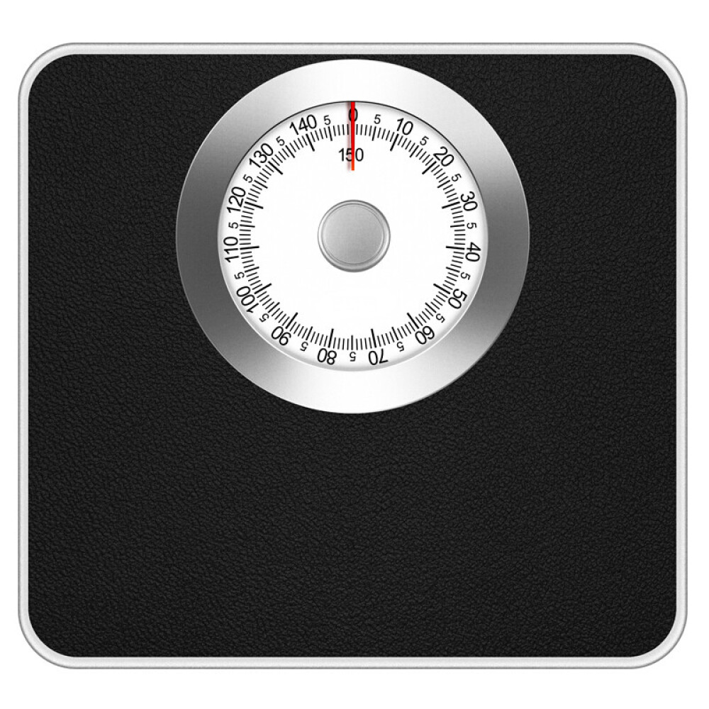 others 고 딩 기계 저울 체중 가정용 인체 정확 하 다 내구성 체중계 소형 남녀 비 전자 지침 기 검은색, 상세페이지 참조, 상세페이지 참조