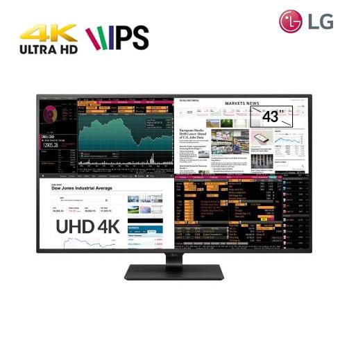 [리퍼상품] LG전자 43인치 4K UHD모니터, 단일상품