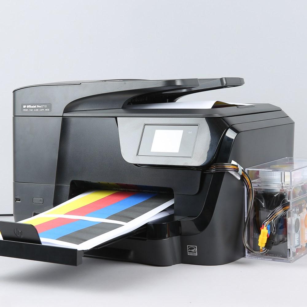 HP 8710 무한잉크 프린터 팩스 복합기 800 팩공급기, 단일상품