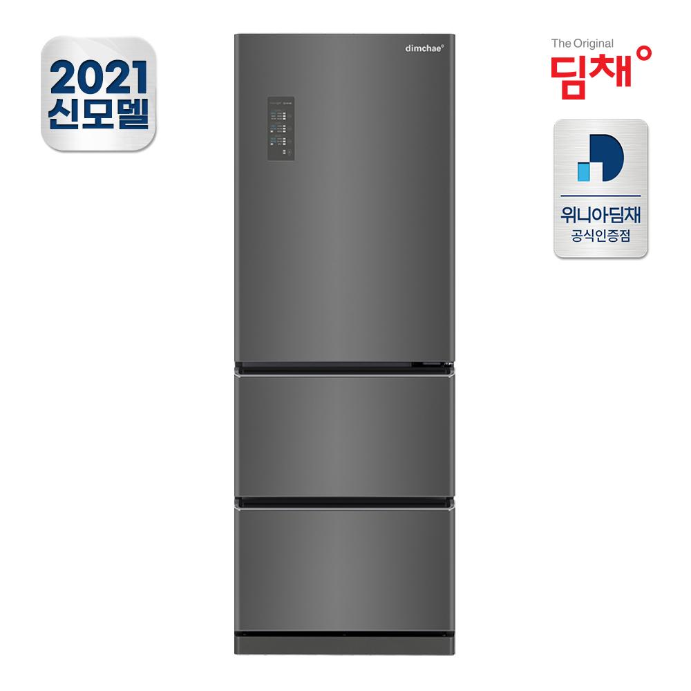 21년형 딤채 스탠드 김치냉장고 EDT33EFRZKT (330L) 공식판매점