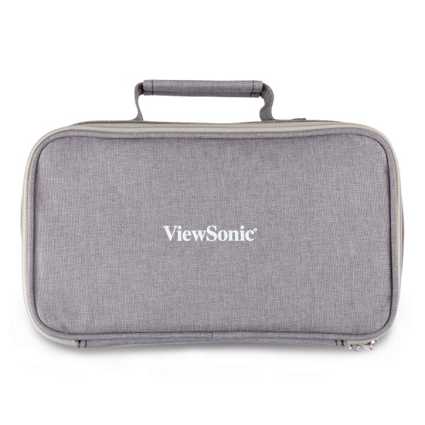 ViewSonic 뷰소닉 PJ-CASE-010 M1 프로젝터 회색을위한 휴대용 케이스 지퍼 소프트 패딩 (POP 345083349)