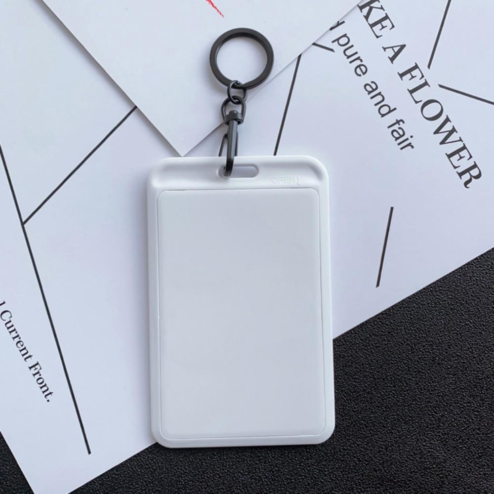 스포츠웨어 프린팅 하드 시즌권케이스 목걸이형 스키장 스노우보드, 흰색 단색 카드 홀더
