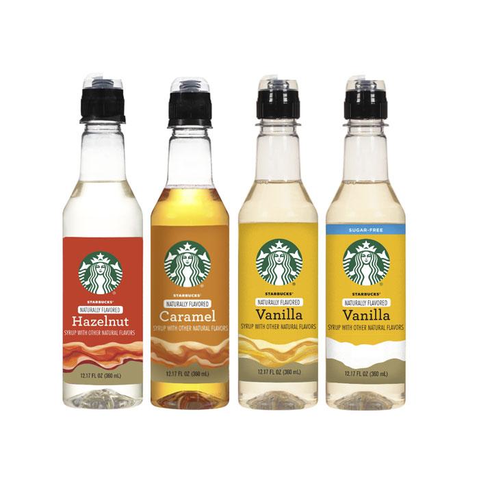 스타벅스 커피시럽 360 ml 4종 / Starbucks Syrup 12.17 oz Bottle, 4. Vanilla Sugar Free