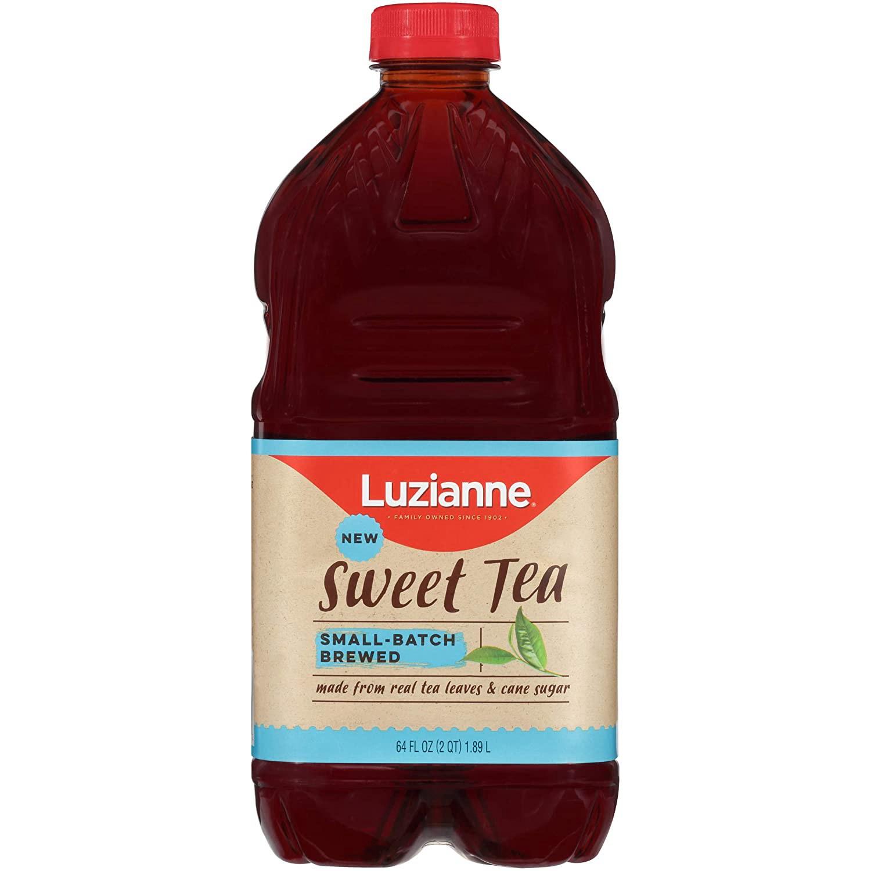 Luzianne Ready To Drink Sweet Tea 64 Oz 64 Ounce Luzianne Ready To Drink Sweet Tea 1814.4g 1814., 1