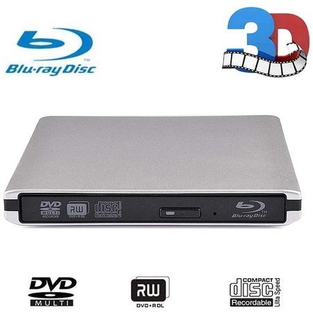 Lindayy External CD DVD Blu-ray 드라이브 USB 3.0 Portable 3D BD CD Blu-ray Player CDDVD-ROM CDDVD-R, 상세 설명 참조0