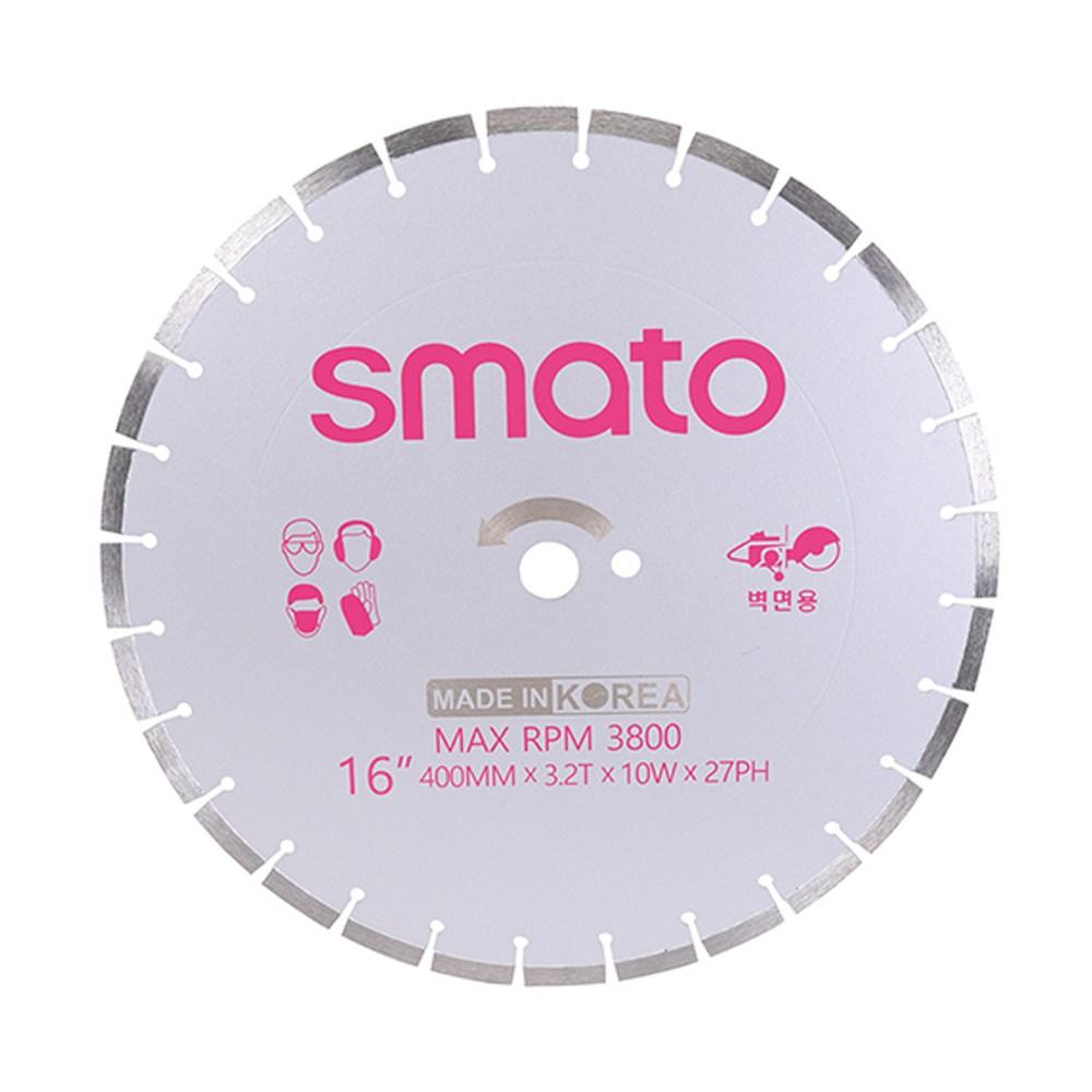 스마토 마른날 16in X3.2TX10W 벽면커팅용 16인치 (1개) (POP 311594008)