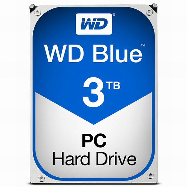 WD BLUE (WD30EZRZ) 3.5 SATA HDD (3TB), WD BLUE SATA HDD (3TB)/70001, 3TB (POP 5257148668)