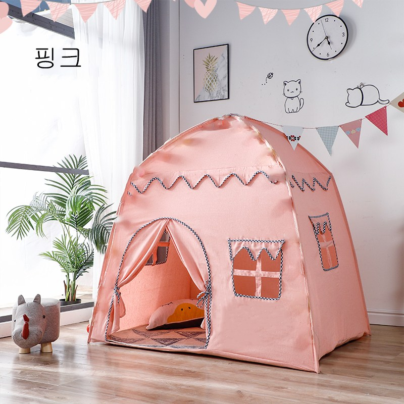 MOLY 아동 실내 사각 귀요미 텐트 놀이집 J348 놀이텐트, 옐로우2