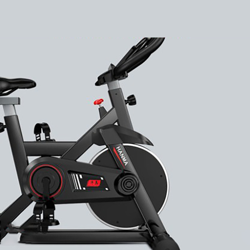 나인티원 실내 무소음 스핀 사이클 로잉 좌식 자전거 바이크, 클래식 블랙
