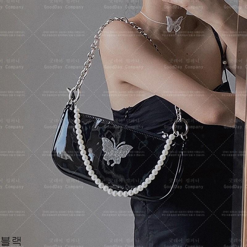 굿데이 컴퍼니 여성 패션 진주 숄더백 크로스체인백 lDJB10