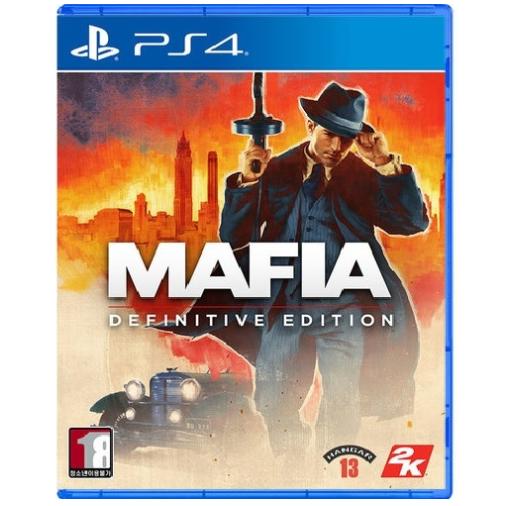 마피아 PS4 데피니티브에디션 한글판 액션