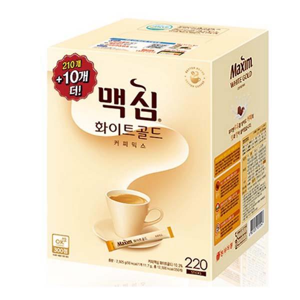 동서 맥심 화이트골드 커피믹스 210T+10T
