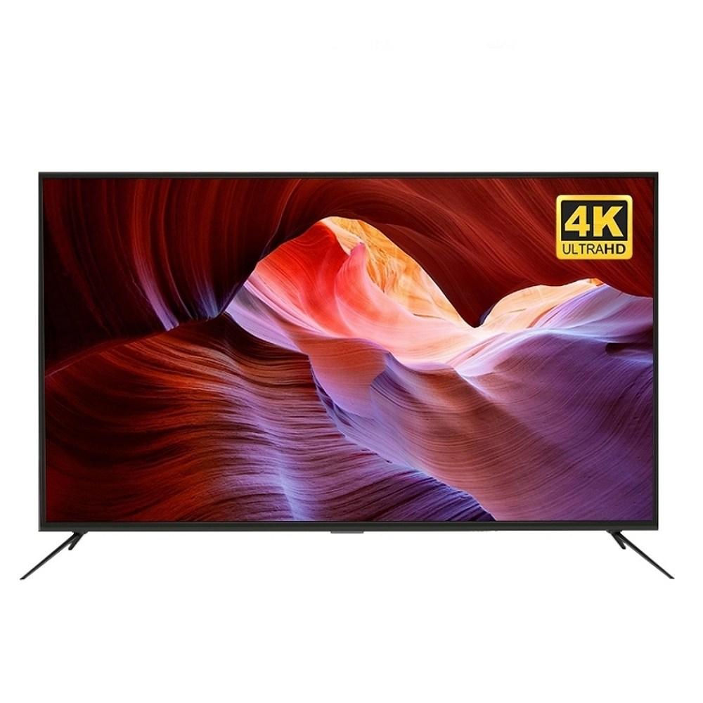(특가) 해커 UHD 65인치 TV 삼성패널 본사 무료 직배송 자가설치, 65인치TV