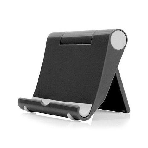 이츠굿텐 가방에 쏙들어가는 휴대용 핸드폰 스마트폰 태블릿PC 거치대, 블랙, 1개-8-4325562394