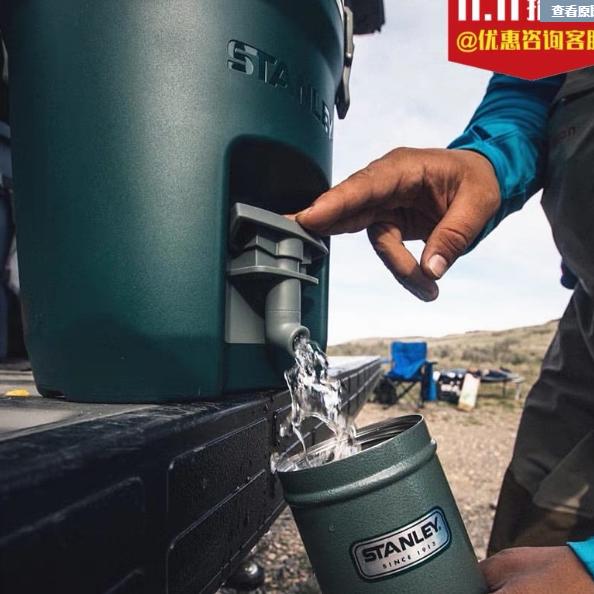 스탠리 워터저그 캠핑 물통 컨테이너 7.5L 폴라, 네이비, 1개