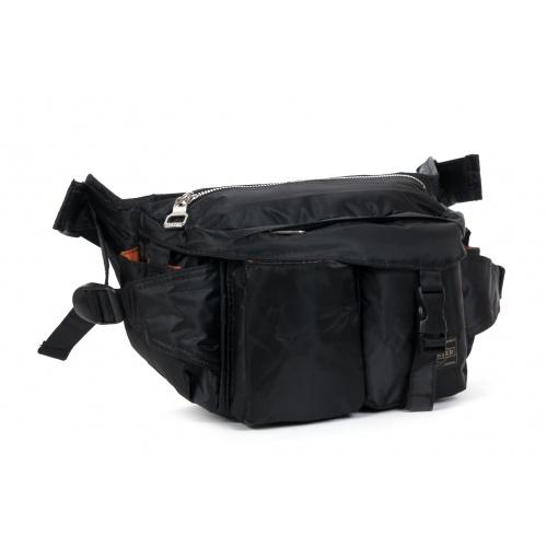 [해외]남성가방 요시다 가방 요시다 가방 포터 다기능 포켓 가슴 가방 메신저 백 잃어 버릴 것입니다