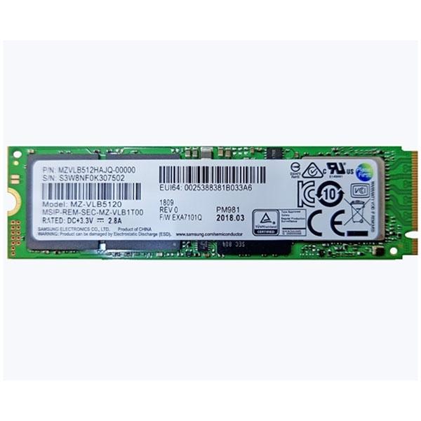 삼성전자 PM981 M.2 2280 512GB 병행수입, 단일상품