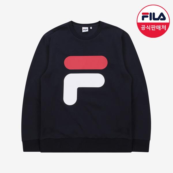 [FILA] BIG F 로고 스웨트셔츠 (FX2POA1021X_INA)