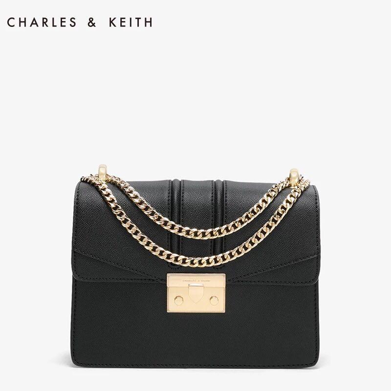 찰스앤키스 가방 PUSH-LOCK SHOULDER BAG CK2-20680639