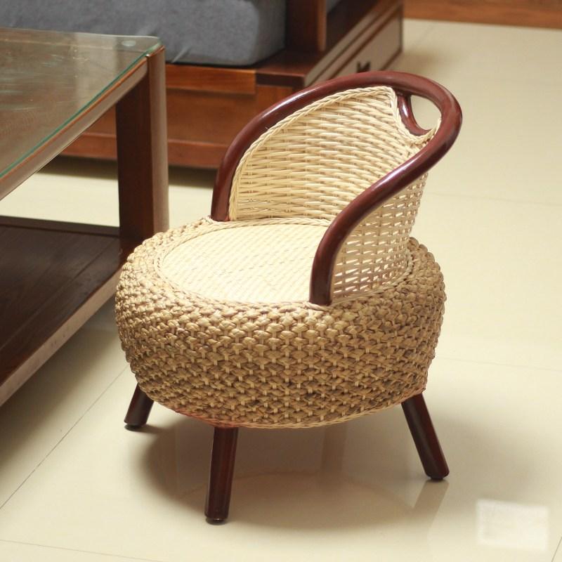 라탄 의자 가정용 캐주얼 의자 거실 의자 등받이 의자, AB