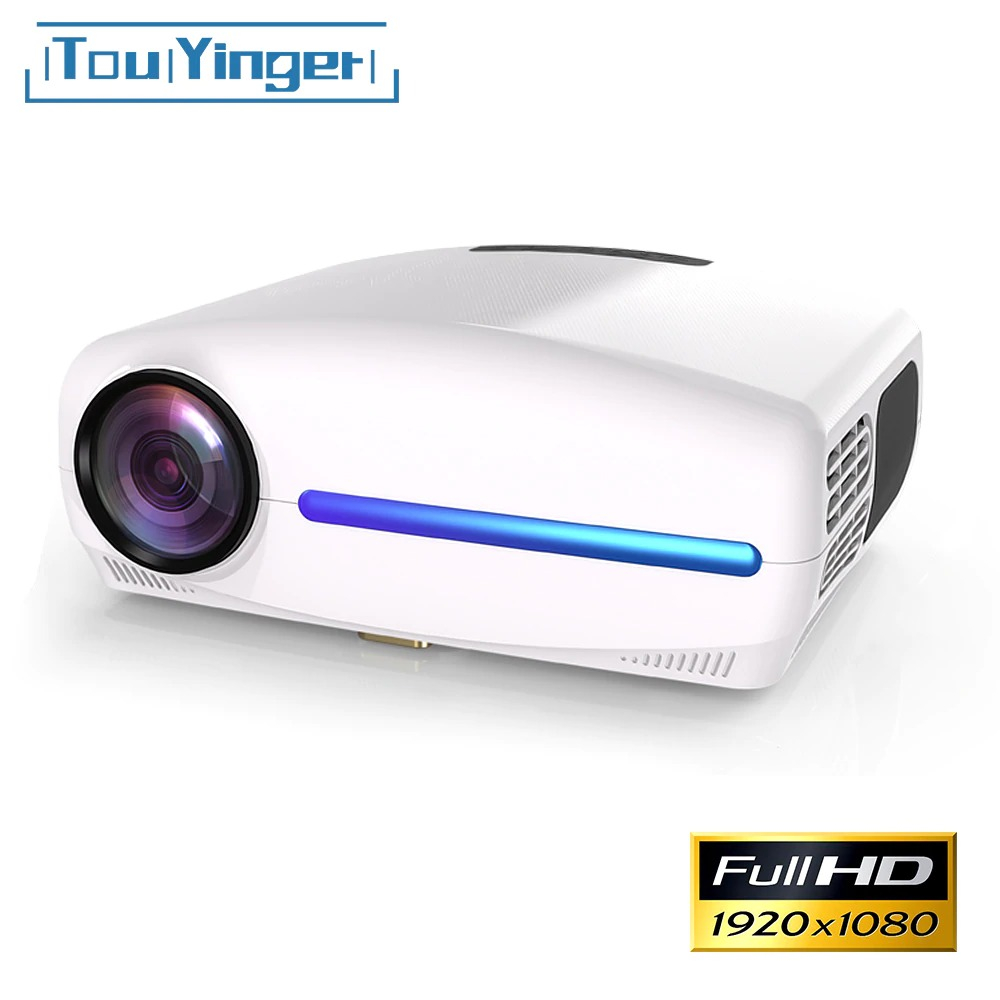 Touyinger S1080 C2 (관부과세 포함) 가성비갑 Full HD FHD Real 1080P 돌비 프로젝터 6500루멘, 기본 Basic