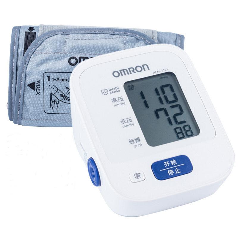 오므론 혈압측정기 HEM-7121 국제인증 / 자동전자혈압계, 없음, 상세설명 참조