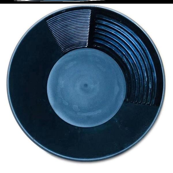 사금 채취 세트 패닝 접시 도구 장비 패닝팬 금채취 사금 모래선별기 추출 다이아몬드, 블랙