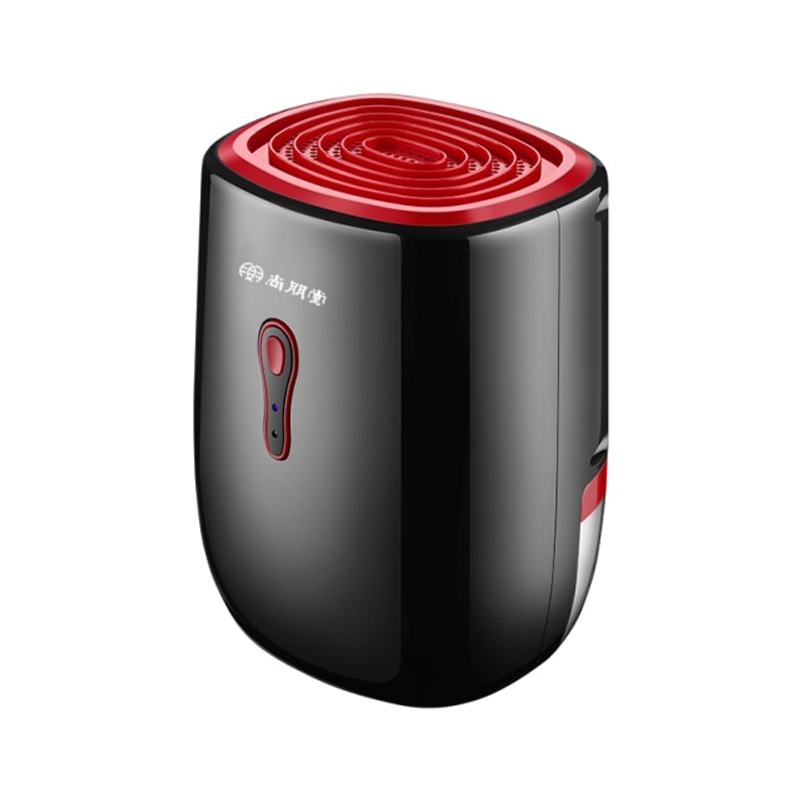 가정용 전기 공기 제습기 휴대용 800ML 수분 흡수 장치 공기 청정기 건조기, 빨간, 영국 플러그 (POP 5621488216)