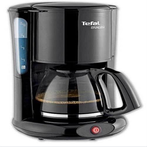 [커피메이커]테팔 커피 메이커 CM-2608 - 1000W 유리 용기 15 컵 컷 필터, 단일상품