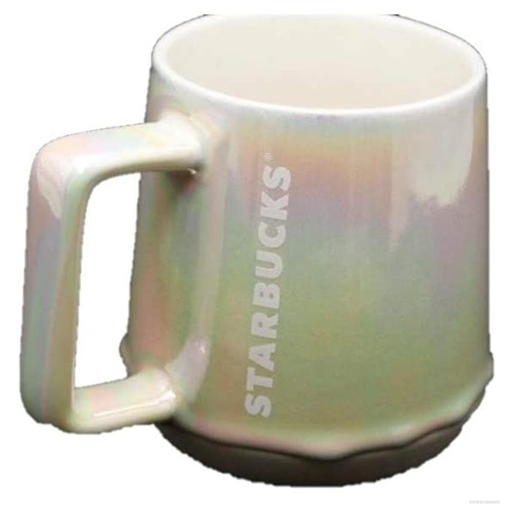 스타벅스 Starbucks 화이트 드립 2019 할리데이 세라믹 머그컵 12 fl.oz, 상세설명참조