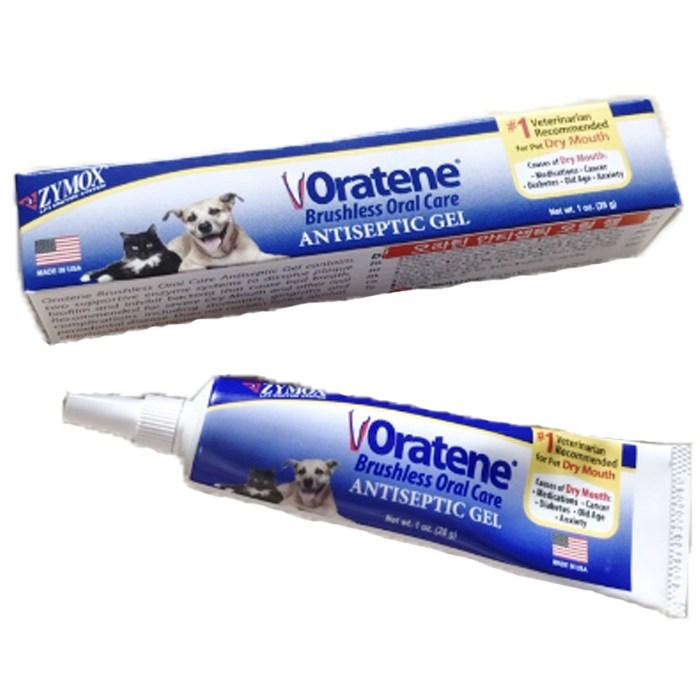 강아지치약 자이목스치약 오라틴 메인터넌스 투스페이스트 강아지 고양이 겸용치약, 오라틴 안티셉틱젤 치약