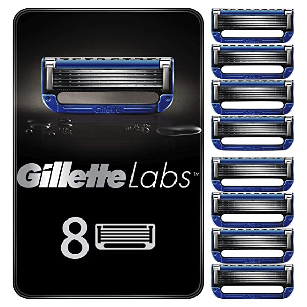 Gillette Replacement Blades for Heated Razor 8 Refills, 단일상품