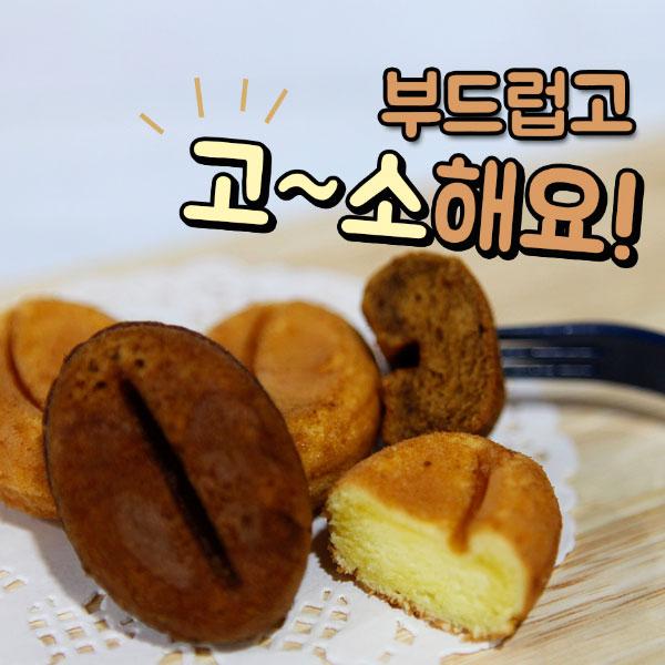 강릉 명물 간식 커피콩빵 아몬드플레인맛, 50개