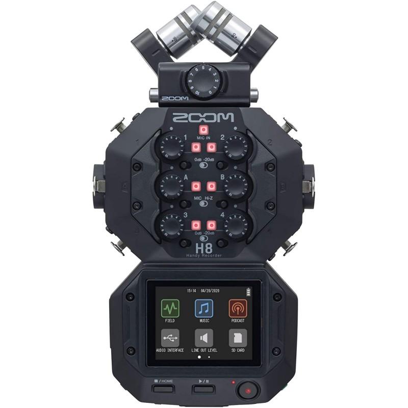줌 H8 - 8 트랙 레코더 - USB 인터페이스, 단일옵션