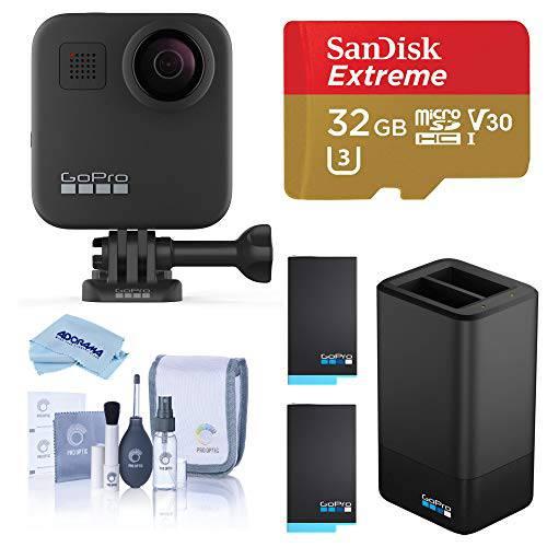 고프로 MAX 방수 360 카메라+ 영웅 Style Video 5.6K30 UHD Video 16.6MP ?, 상세내용참조