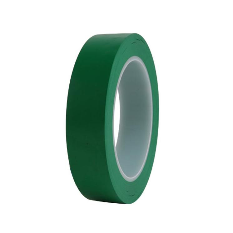 힘찬 덕성 바닥라인테이프 25mm 색상선택 색테이프 칼라테이프, 초록