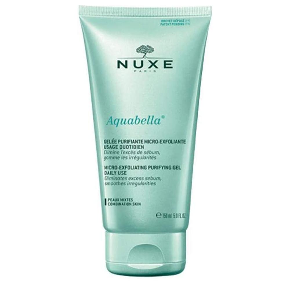 Nuxe Aquabella Micro Exfoliating Purifying Gel 눅스 아쿠아벨라 익스폴레이팅 퓨리파잉 젤 150ml 3팩