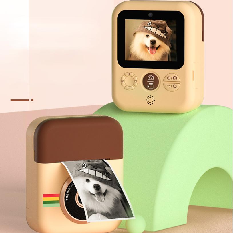 어린이 폴라로이드 즉석카메라+필름지 증정