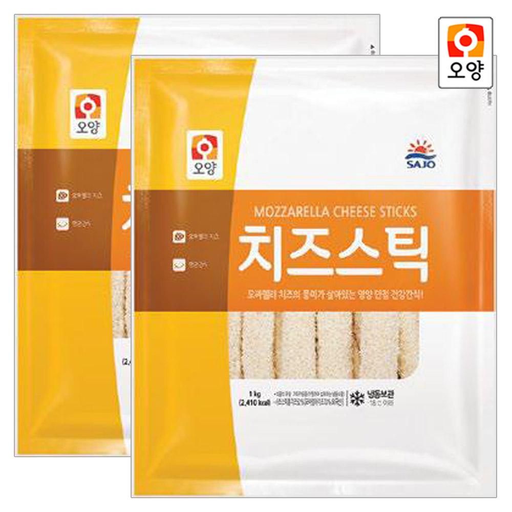 [퀴클리몰] 사조오양 치즈스틱 1kg x 2개
