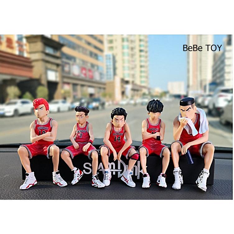 [베베토이] 슬램덩크 차량용 주차번호판 -미니피규어 주차알림판세트 = 국내당일배송, 유니폼 버전