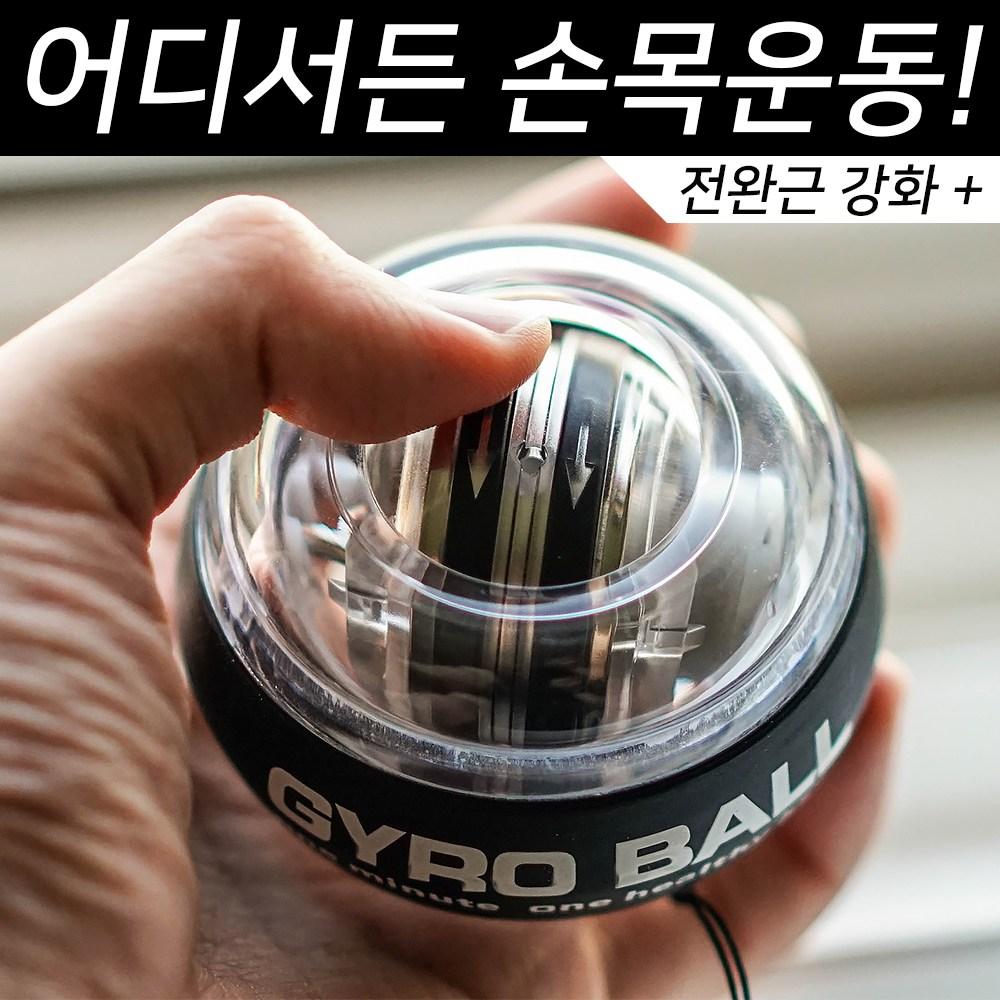 헬스몬 자이로볼 전완근 손목 운동 기구 (하드케이스 포함)