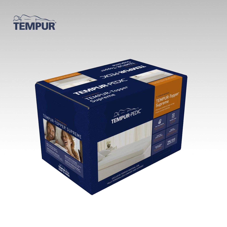 템퍼 템퍼페딕 슈프림 3인치(7.6cm) 매트리스 토퍼