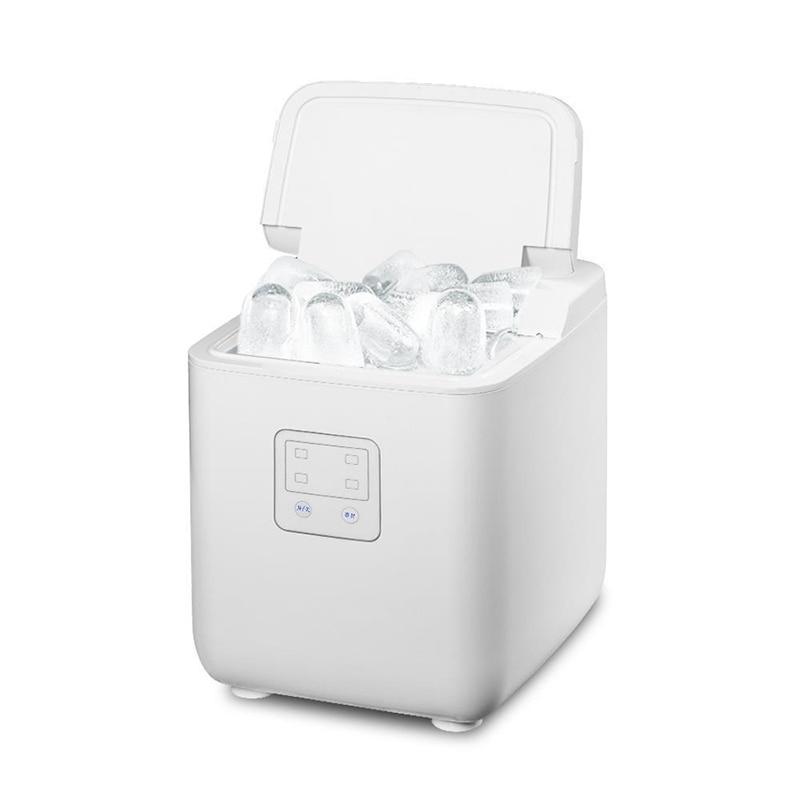 가정용 제빙기 휴대용 미니 제빙기 데스크탑 제빙기 가정용 휴대용 소형 아이스 큐브 기계 터치 버튼 완전 자동 주방 레스토랑에 적합 얼음제빙기 가정용미니제빙기, CN (POP 5734281272)
